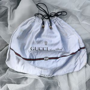 GUCCI Accessory Collection Vintage Travel Dust Bag